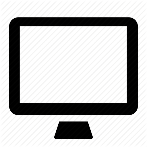 Computer, desktop, display, monitor, screen, system, wallpaper icon