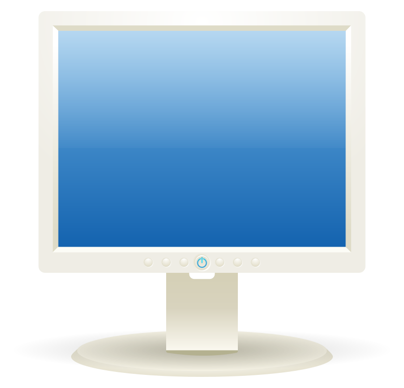Computer LCD Display Png image #45264