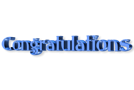 Free Download Of Congratulations Icon Clipart image #22062