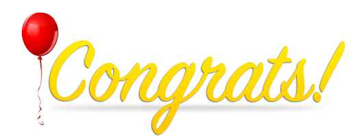 File Congratulations PNG image #22075
