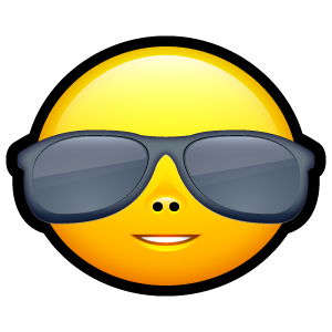 cool sunglasses icon