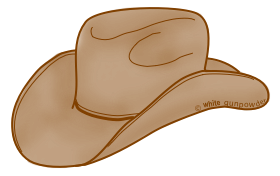 Cowboy Hat Icon Download image #23093