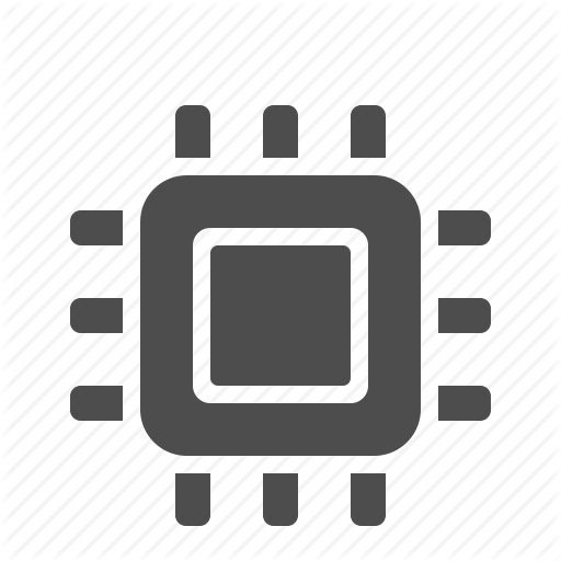 Cpu, Hardware, Microprocessor Icon image #9567
