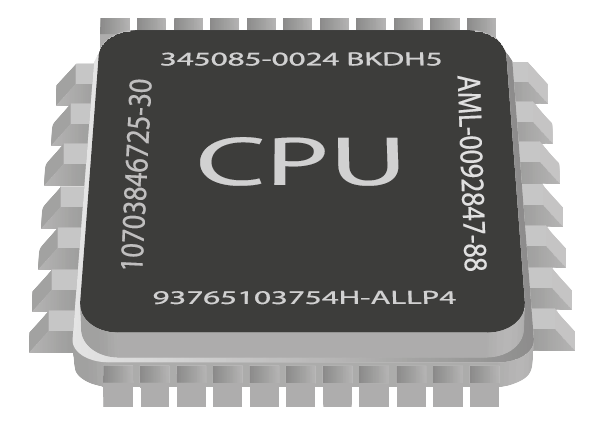 Cpu, Microprocessor Icon image #9583
