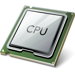 Cpu, Microprocessor Icon image #9584
