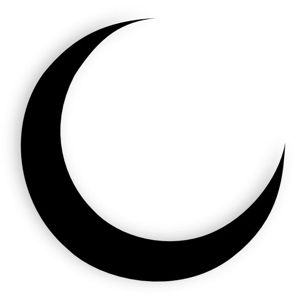 Crescent Moon PNG Pic image #35133