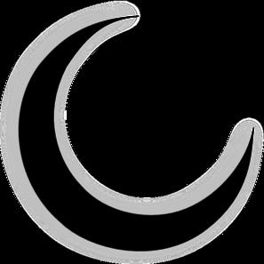 crescent moon png hd