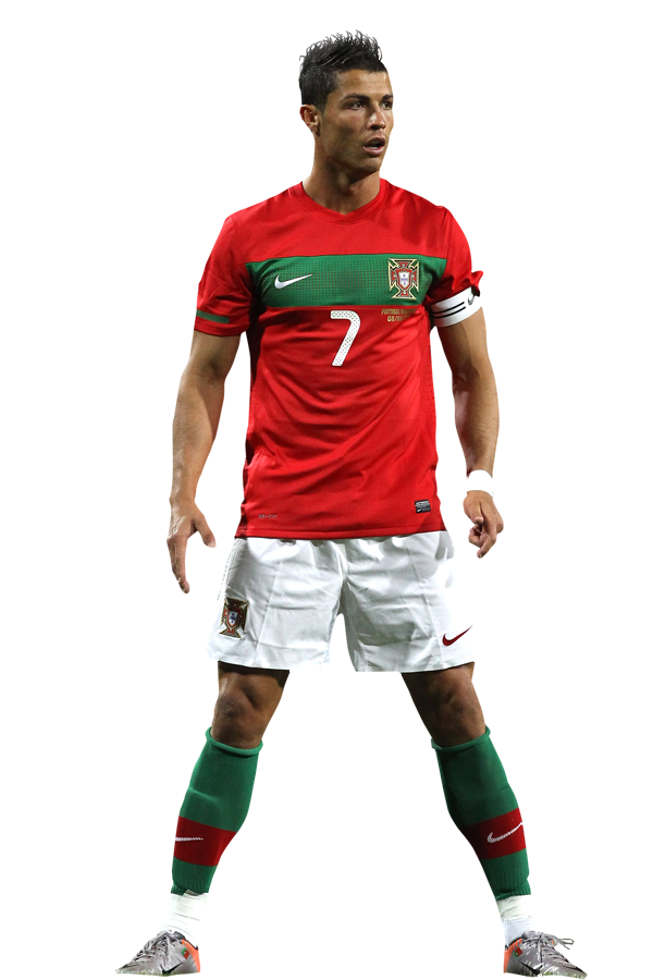 Cristiano Ronaldo Portugal Real Madrid renders png