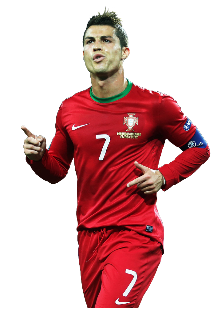 buy popular 3cfae ea156 Cristiano ronaldo red jersey #45089 - Free Icons and PNG ...