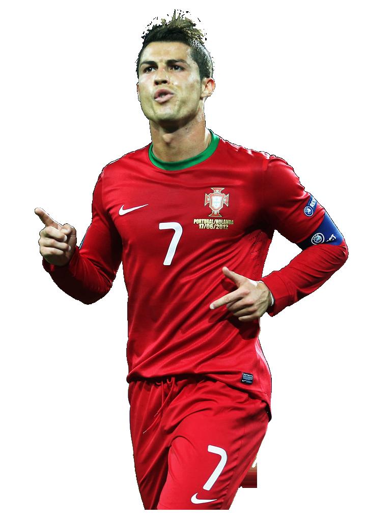 cristiano ronaldo red jersey