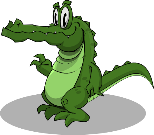 Crocodile Png Cartoon Image image #37534