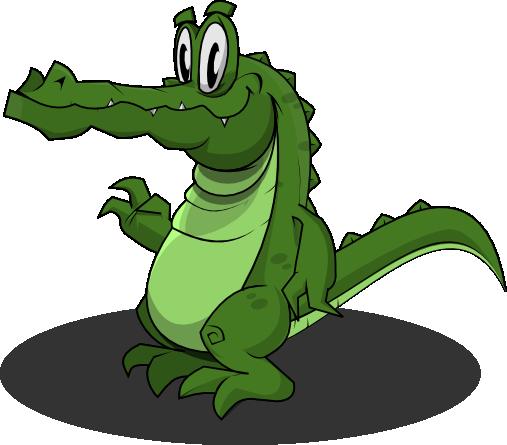 crocodile png cartoon image