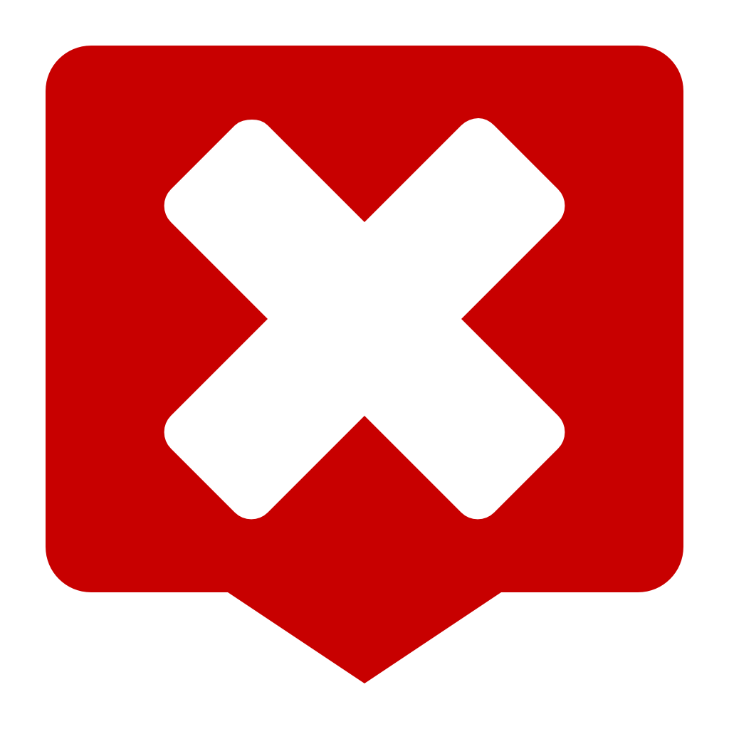 Crossed the plate PNG transparent image Error sign