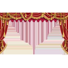 Curtain Transparent Png image #37356