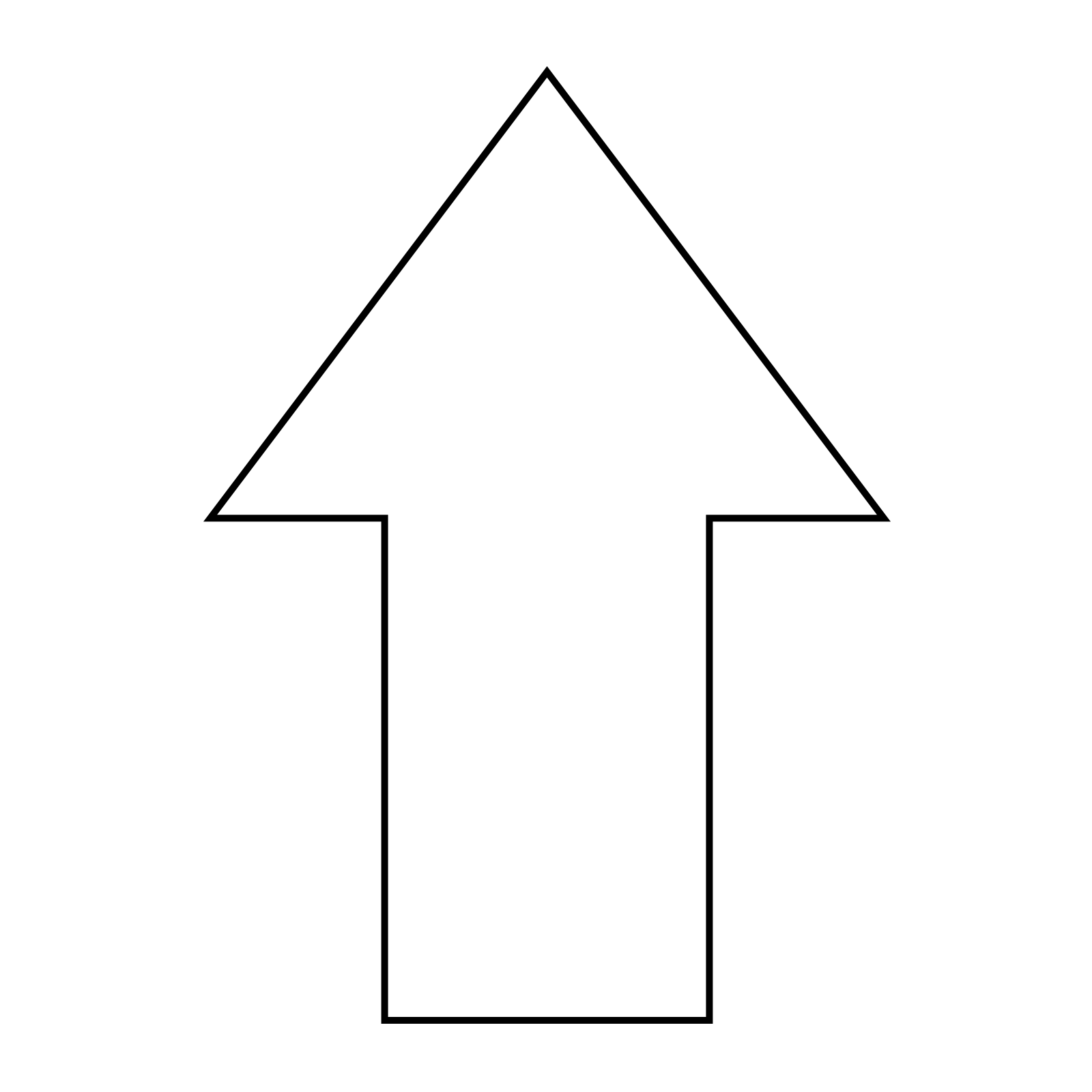 Curved White Arrow Png