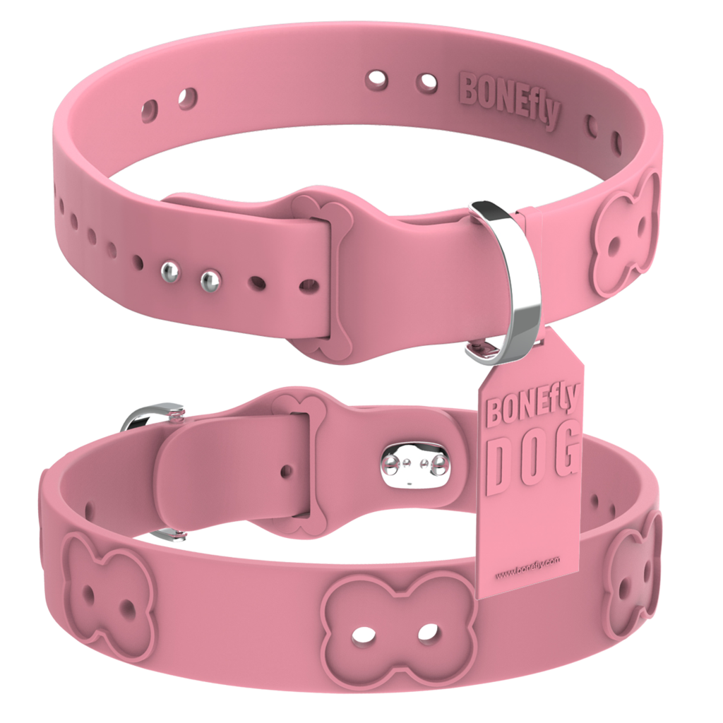 Custom Made Dog Collar Pink Background Images image #48117
