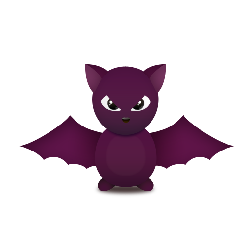 Cute Bat Icon Png image #32302