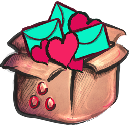 Cute Box Icon Png image #32296