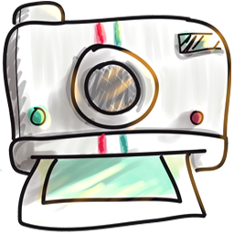 Cute Camera Icon Png image #32299