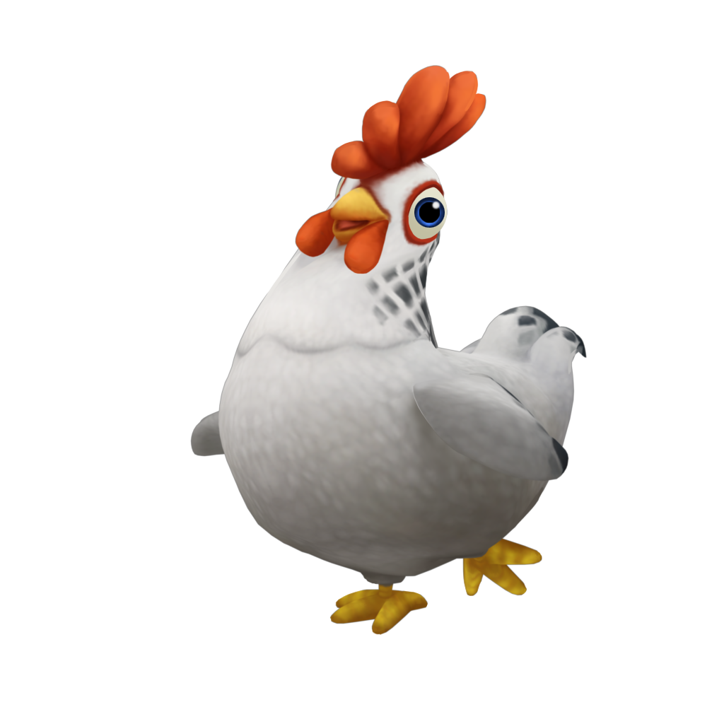 Cute Cartoon Chicken Png image #40299