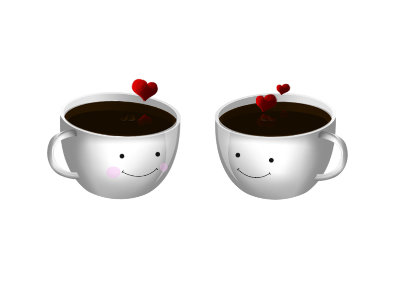Cute Coffe Cup Icon Png image #32303