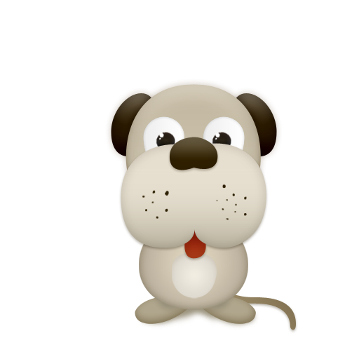 Cute Dog Icon Png image #32304