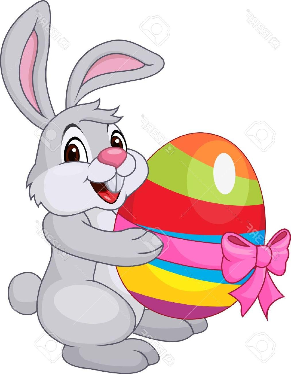 Cute Easter Bunny Clip Art image #46587