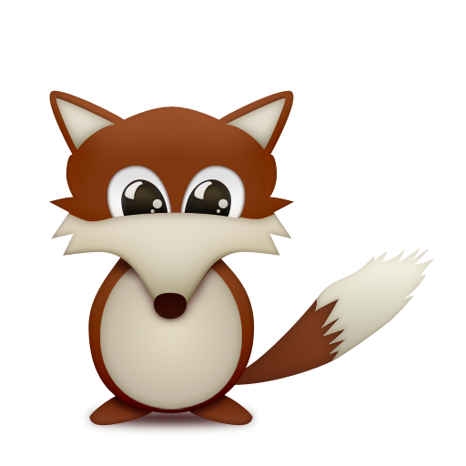 cute fox icon png