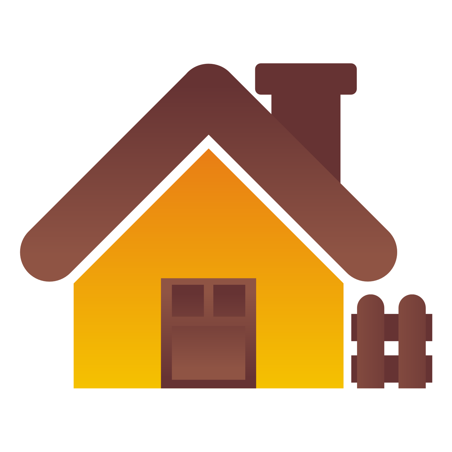Cute House Icon Png image #32289