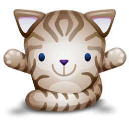 Cute Kitten Cat Icon Png image #32293