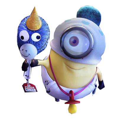 Cute Minion Png image #42196