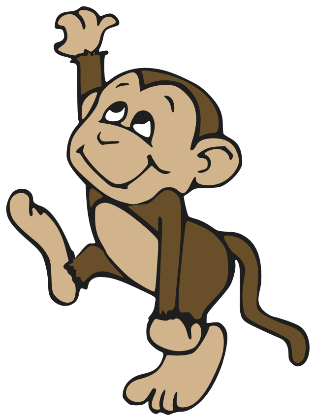 Cute Monkey Png image #26157