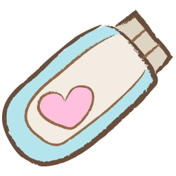 Cute Usb Heart Icon Png image #32294