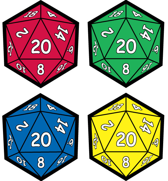 D20 Download Icon