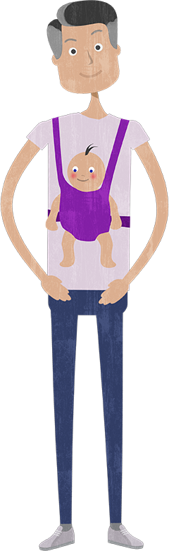 DAD AND BABY Png image #42631