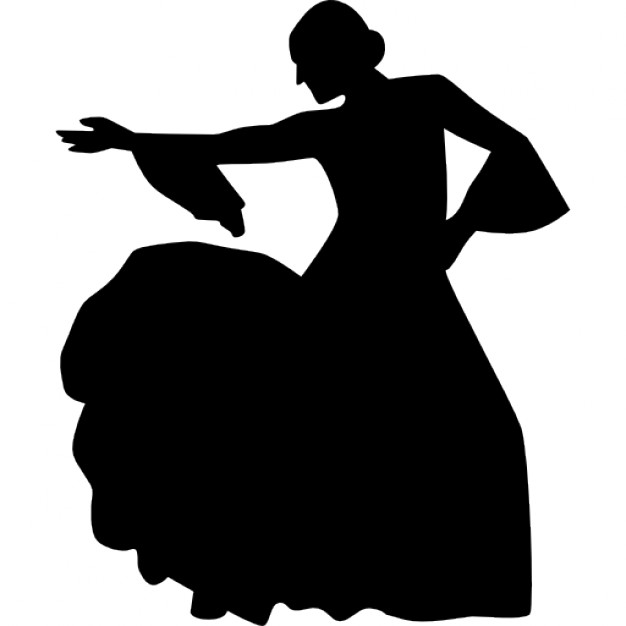Dancing Woman Silhouette download dancing silhouette PNG images