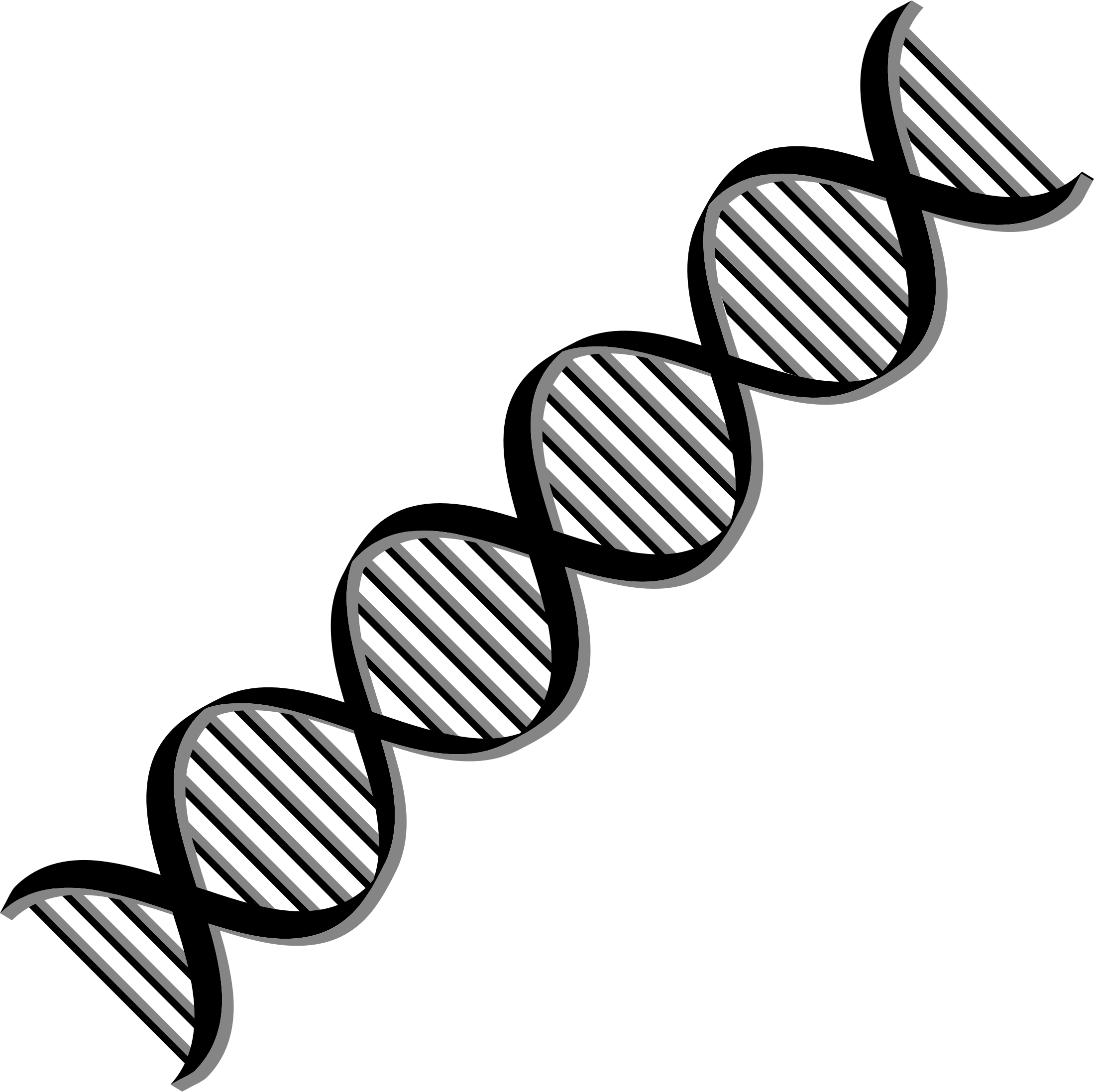 Dark and Dna Background