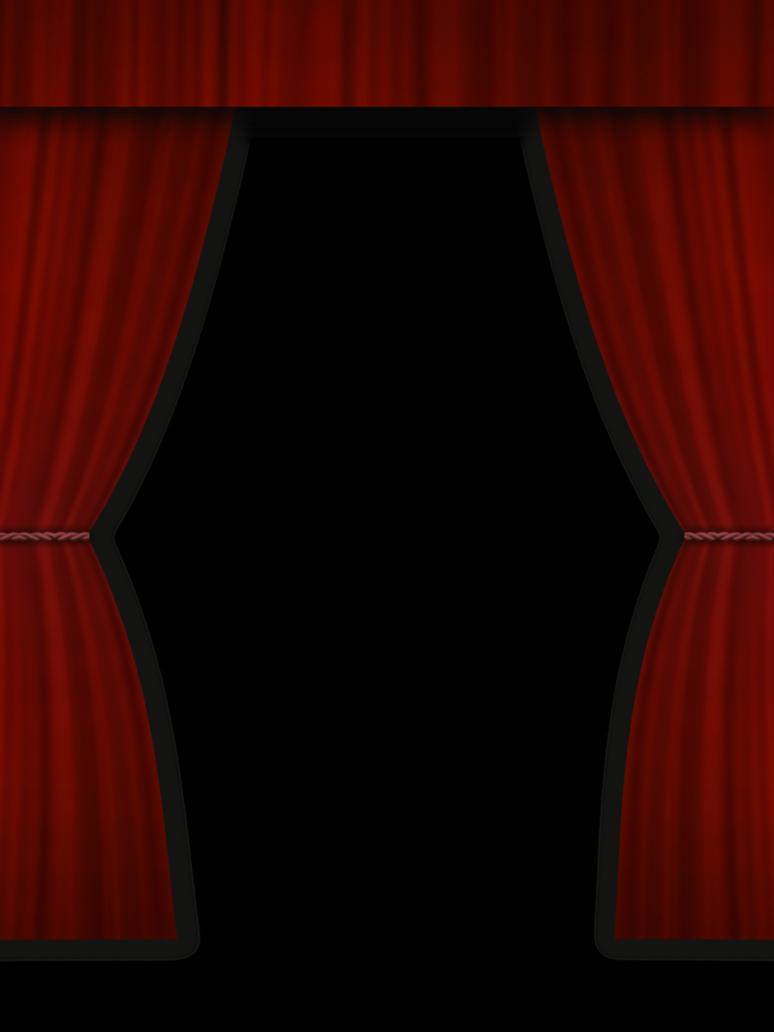 Dark Curtain Transparent Png image #37343