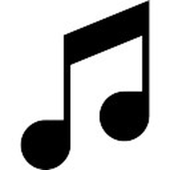 Dark Music Note Transparent Image