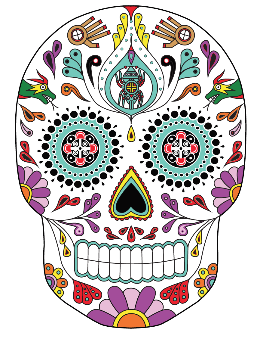 Download Free High-quality Day Of Dead Png Transparent Images image #28661