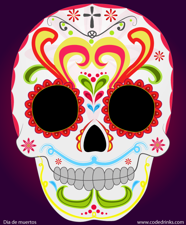 High-quality Day Of Dead Cliparts For Free! image #28662