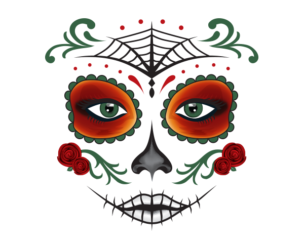 Day Of Dead Png Available In Different Size