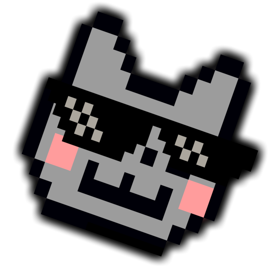 Deal With It Nyan Cat Glasses Png image #41941