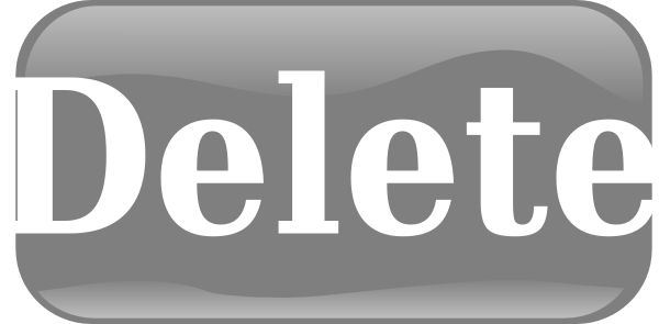 Transparent Background Delete Button Png Hd image #28564