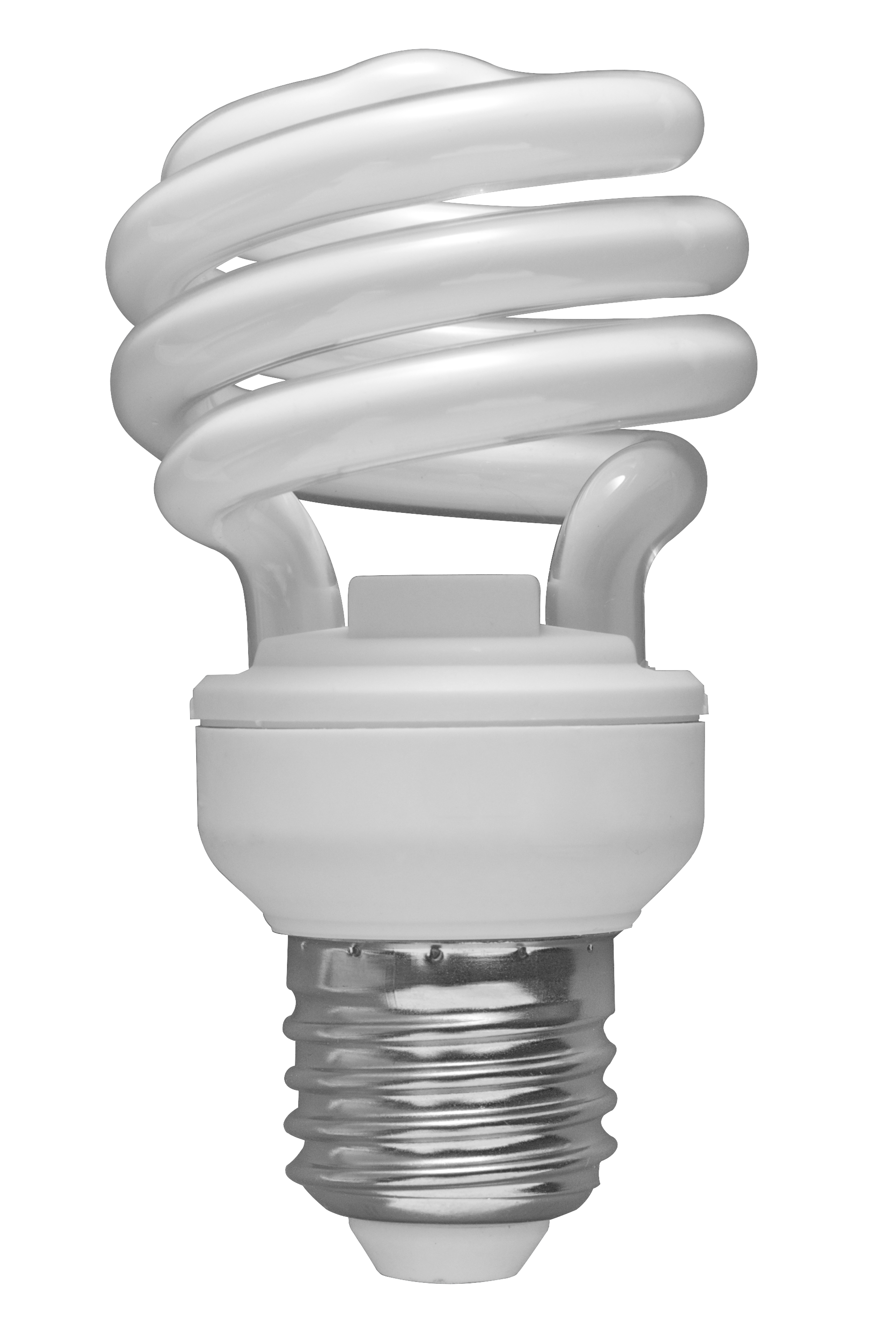 Description 01 Spiral CFL Bulb 2010 03 08 (transparent Back) image #847
