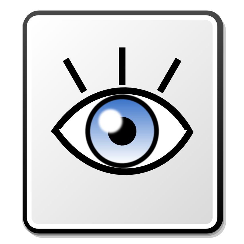 Description Nuvola eye icon