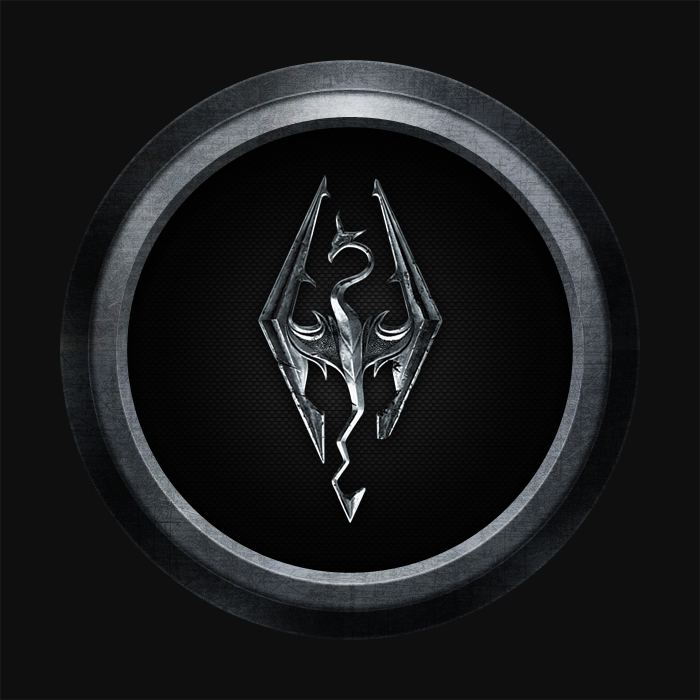 Design Skyrim Icon