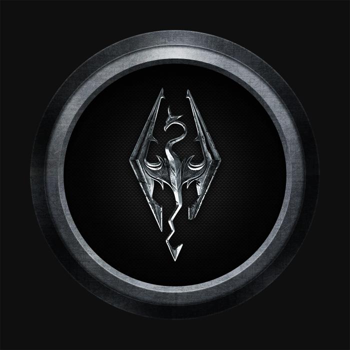 Design Skyrim Icon