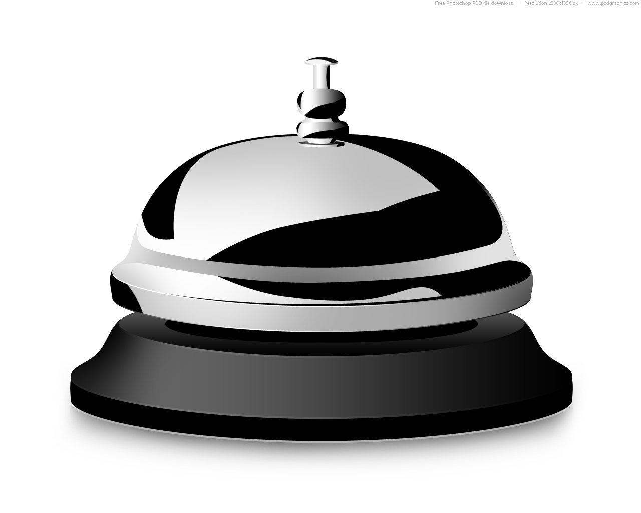 Desk Bell Icon image #16620