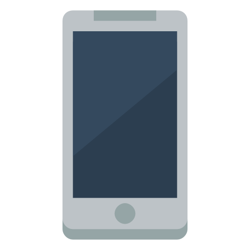 Device Mobile Phone Icon | Small & Flat Iconset | Paomedia image #2355